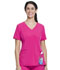 Photograph of Walmart USA Performance Women Mock Wrap Top Extreme Pink WM841-EXPK