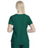Photograph of Walmart USA CE Women's Women's Women's V-Neck Top Green WM842-HUN