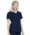 Photograph of Walmart USA CE Women's Women Women's VNeck Top Blue WM842-IND