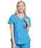 Photograph of Walmart USA CE Women's Women Women's VNeck Top Blue WM842-TRQ