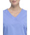 Photograph of Walmart USA Premium Rayon Women Premium Mock Wrap Top Blue WM862-CIE