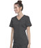 Photograph of Walmart USA Premium Rayon Women Premium Mock Wrap Top Gray WM862-PWT