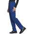 Photograph of Workwear WW Professionals Women's Natural Rise Tapered Leg Drawstring Pant Blue WW050T-ROY
