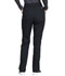 Photograph of WW Professionals Women's Natural Rise Tapered Leg Drawstring Pant Black WW050-BLK