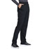 Photograph of Workwear WW Professionals Women's Natural Rise Tapered Leg Drawstring Pant Black WW050-BLK
