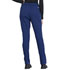 Photograph of Workwear WW Professionals Women's Natural Rise Tapered Leg Drawstring Pant Blue WW050-NAV