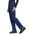 Photograph of Workwear WW Professionals Women Natural Rise Tapered Leg Drawstring Pant Blue WW050-NAV