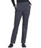 Photograph of WW Professionals Women's Natural Rise Tapered Leg Drawstring Pant Gray WW050-PWT