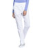 Photograph of WW Professionals Women's Natural Rise Tapered Leg Drawstring Pant White WW050-WHT