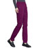 Photograph of Workwear WW Professionals Women's Natural Rise Tapered Leg Drawstring Pant Red WW050-WIN