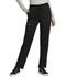 Photograph of WW Revolution Women's Mid Rise Tapered Leg Drawstring Pant Black WW105-BLK