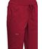 Photograph of WW Revolution Women Mid Rise Tapered Leg Drawstring Pant Red WW105-RED
