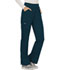 Photograph of WW Revolution Women's Mid Rise Straight Leg Pull-on Pant Blue WW110-CAR