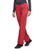 Photograph of WW Revolution Women Mid Rise Straight Leg Pull-on Pant Red WW110-HOTT