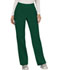 Photograph of WW Revolution Women's Mid Rise Straight Leg Pull-on Pant Green WW110-HUN