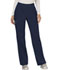 Photograph of WW Revolution Women's Mid Rise Straight Leg Pull-on Pant Blue WW110-NAV