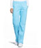 Photograph of WW Revolution Women's Mid Rise Straight Leg Pull-on Pant Blue WW110-TRQ