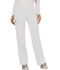 Photograph of WW Revolution Women's Mid Rise Straight Leg Pull-on Pant White WW110-WHT