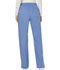 Photograph of WW Revolution Women Mid Rise Moderate Flare Drawstring Pant Blue WW120-CIE