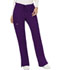 Photograph of WW Revolution Women's Mid Rise Moderate Flare Drawstring Pant Purple WW120-EGG