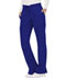 Photograph of WW Revolution Women's Mid Rise Moderate Flare Drawstring Pant Blue WW120-GAB
