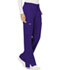 Photograph of WW Revolution Women Mid Rise Moderate Flare Drawstring Pant Purple WW120-GRP