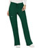 Photograph of WW Revolution Women's Mid Rise Moderate Flare Drawstring Pant Green WW120-HUN