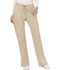 Photograph of WW Revolution Women's Mid Rise Moderate Flare Drawstring Pant Brown WW120-KAK