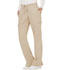 Photograph of WW Revolution Women's Mid Rise Moderate Flare Drawstring Pant Khaki WW120-KAK