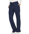 Photograph of WW Revolution Women's Mid Rise Moderate Flare Drawstring Pant Blue WW120-NAV