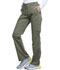 Photograph of WW Revolution Women Mid Rise Moderate Flare Drawstring Pant Green WW120-OLV