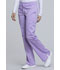 Photograph of WW Revolution Women's Mid Rise Moderate Flare Drawstring Pant Purple WW120-OSOR