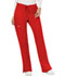 Photograph of WW Revolution Women's Mid Rise Moderate Flare Drawstring Pant Red WW120-RED