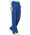 Photograph of WW Revolution Women's Mid Rise Moderate Flare Drawstring Pant Blue WW120-ROY