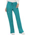 Photograph of WW Revolution Women's Mid Rise Moderate Flare Drawstring Pant Blue WW120-TLB
