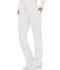 Photograph of WW Revolution Women's Mid Rise Moderate Flare Drawstring Pant White WW120-WHT