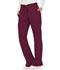 Photograph of WW Revolution Women's Mid Rise Moderate Flare Drawstring Pant Red WW120-WIN