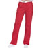 Photograph of WW Core Stretch Women's Mid Rise Straight Leg Drawstring Pant Red WW130-REDW