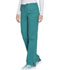 Photograph of WW Core Stretch Women's Mid Rise Straight Leg Drawstring Pant Green WW130-TLBW