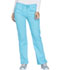 Photograph of WW Core Stretch Women's Mid Rise Straight Leg Drawstring Pant Blue WW130-TRQW