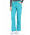 Photograph of Workwear WW Professionals Women's Mid Rise Straight Leg Drawstring Pant Blue WW160-TLB