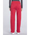 Photograph of Workwear WW Professionals Women Mid Rise Straight Leg Pull-on Cargo Pant Red WW170T-RED