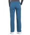 Photograph of Workwear WW Professionals Women Mid Rise Straight Leg Pull-on Cargo Pant Blue WW170-CAR