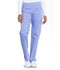 Photograph of Workwear WW Professionals Women Mid Rise Straight Leg Pull-on Cargo Pant Blue WW170-CIE