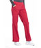 Photograph of Workwear WW Professionals Women Mid Rise Straight Leg Pull-on Cargo Pant Red WW170-RED