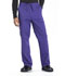 Photograph of WW Professionals Men's Men's Tapered Leg Drawstring Cargo Pant Purple WW190-GRP