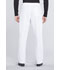 Photograph of Workwear WW Professionals Men's Men's Tapered Leg Drawstring Cargo Pant White WW190-WHT