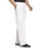 Photograph of WW Core Stretch Men's Men's Fly Front Pant White WW200-WHTW