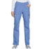Photograph of WW Originals Women's Mid Rise Straight Leg Pull-on Cargo Pant Blue WW210-CIEW