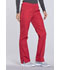 Photograph of WW Originals Women's Mid Rise Straight Leg Pull-on Cargo Pant Red WW210-REDW